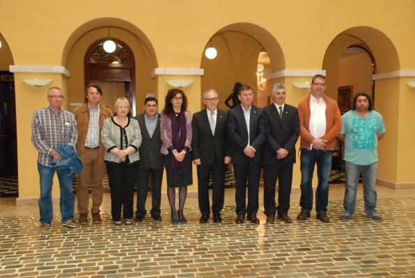 Presentation of gastronomic between Cambrils and the Ametlla
