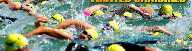 More than 600 in the first Triathlon of Cambrils