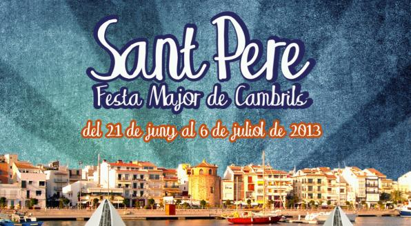 Day of Sant Pere de Cambrils 2013.