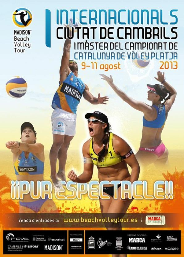 I Internacionals Ciutat de Cambrils, Madison Beach Volley Tour