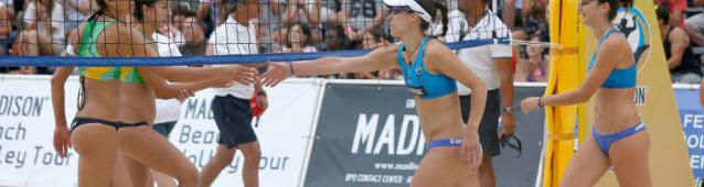 Enjoy the best beach volleyball this weekend in Cambrils
