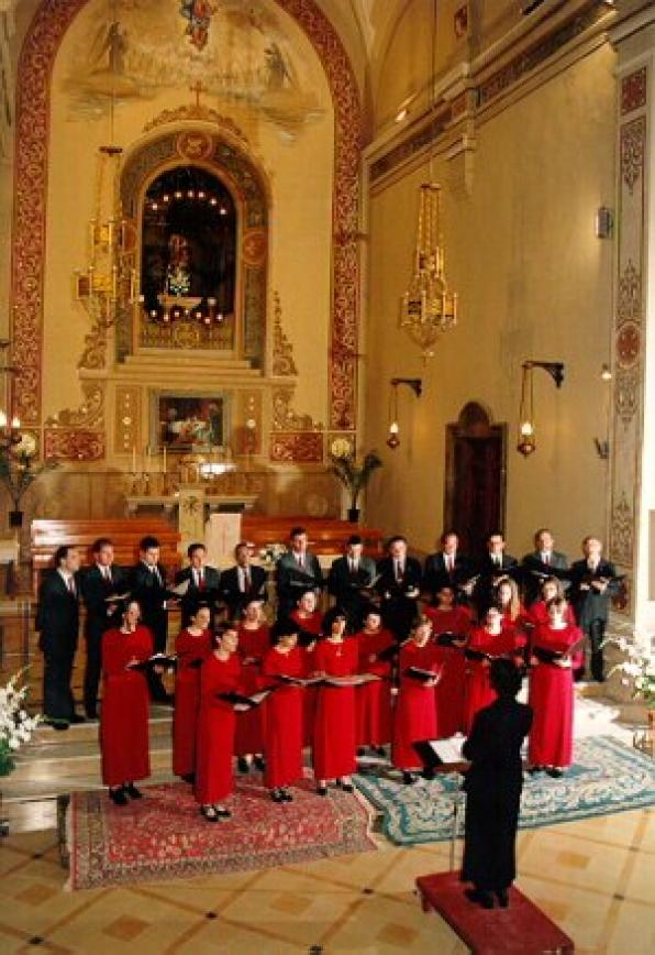 The Choir Verge del Cami from Cambrils star in the Christmas concert