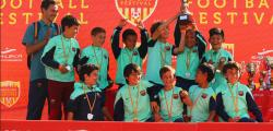 Salou hosts the 'Football Cup Barcelona' tournament this weekend