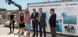 Repsol will install 17 biotopes with ecological buoys on the beaches