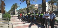 The Beach Police has six new bicycles to patrol