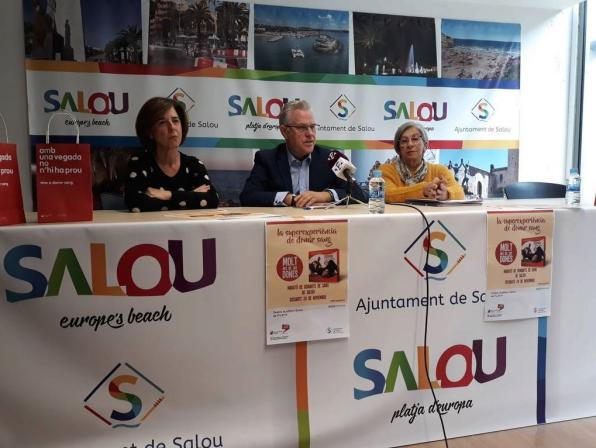 The mayor has called for the solidarity of Salouenses