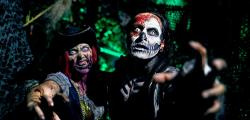 Halloween in PortAventura and passages of terror like the Isla Maldita