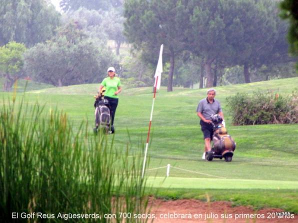 Golf Reus Aigüesverds pioneer in the use of reclaimed water, is preparing to celebrate 20 years