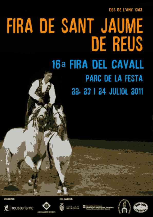 Reus celebrates the Fair of Sant Jaume 2011 from 22 to 24 July