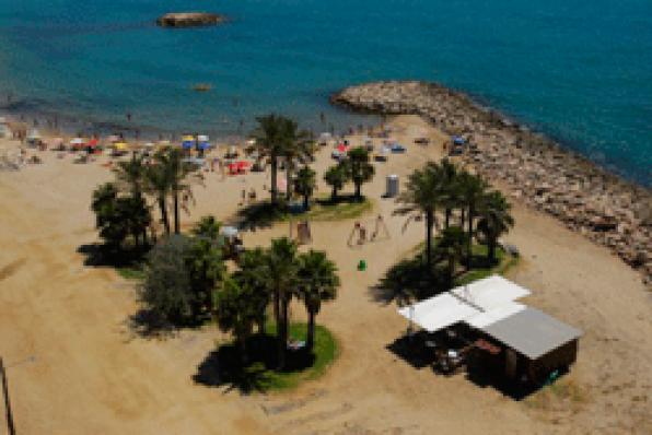 Cambrils opens a green area of ​​more than one hectare at seaside