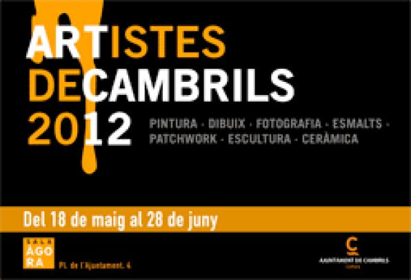 Over 40 artists exhibit their works in Cambrils in the Sala Agora