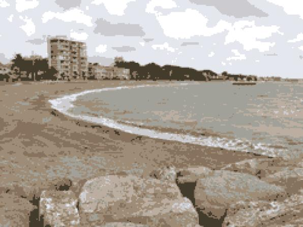 Cambrils opens a new beach to the Ardiaca