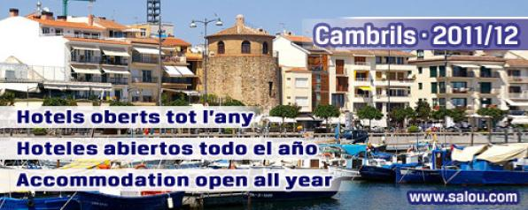 Half a dozen of hotels remain open year-round in Cambrils and three more at Vila-seca/La Pineda