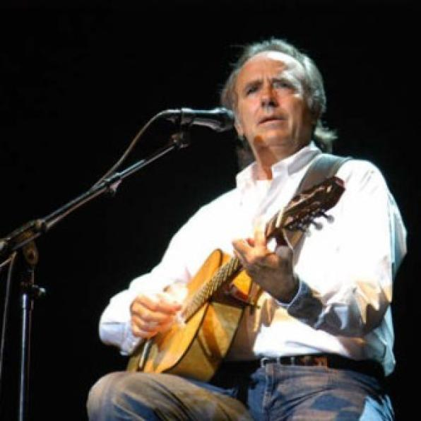 Joan Manuel Serrat in Cambrils on July 27th