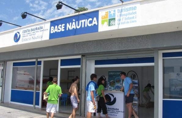 L'Hospitalet de l'Infant opens up a base of the boat on the Costa Dorada