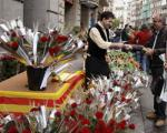 Sant Jordi arrives at the streets of the Costa Dorada and Terres de l'Ebre