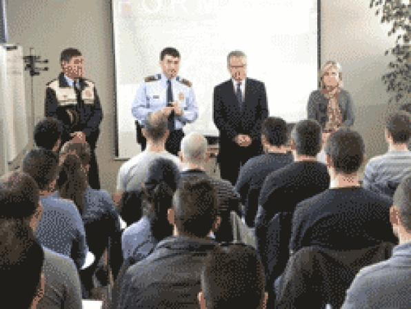 Inaugurated the X edition of the Training Course on Local Police in Salou