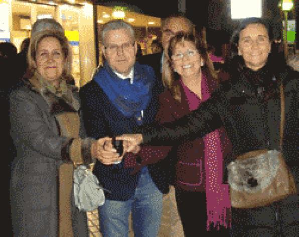 Salou ignites festive lighting in the main streets of the city