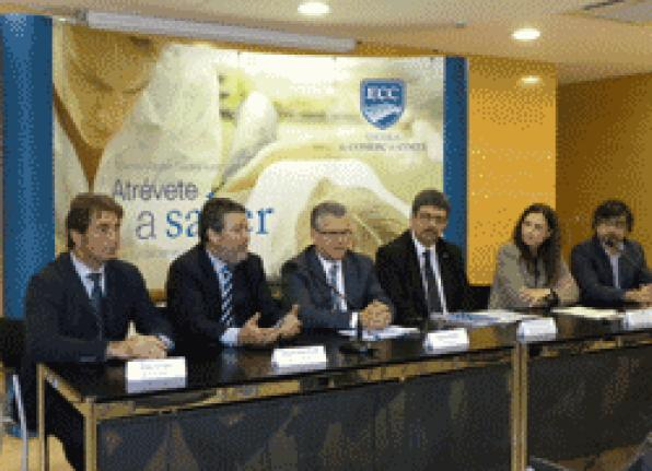 The ECC has a new master's degree and completed postgraduate training in trade