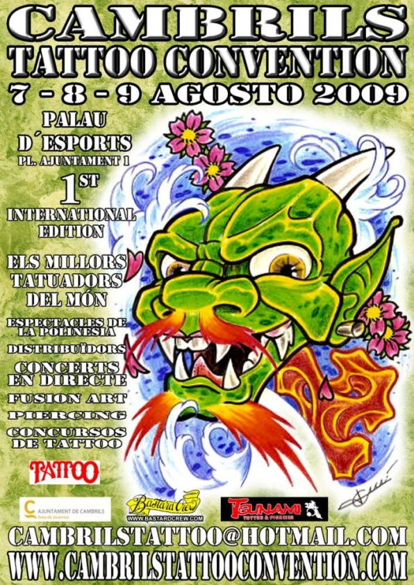 1ª CAMBRILS TATTOO CONVENTION