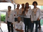 The Nautic Salou, third in the Championship of Optimist